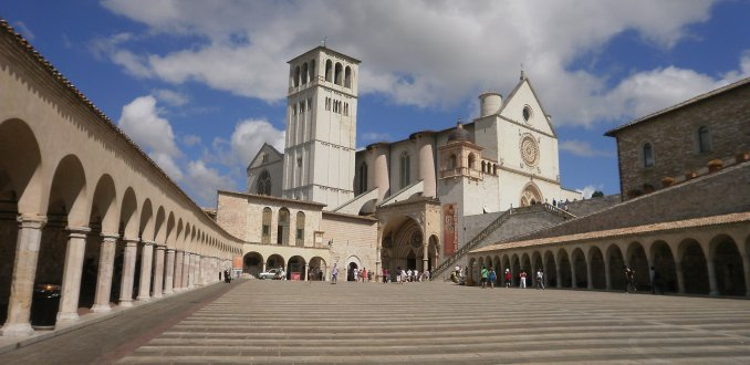 kerk van assissi