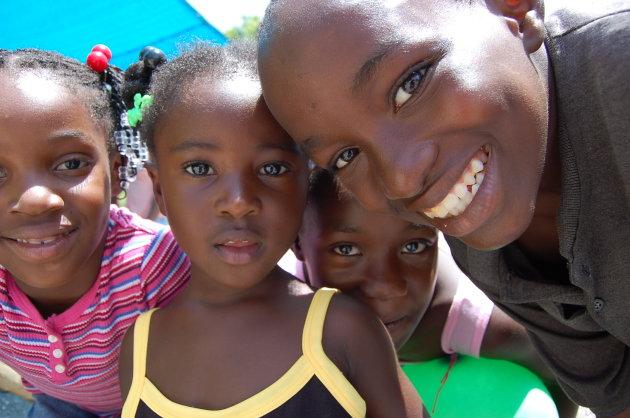Kinderen in Jamaica