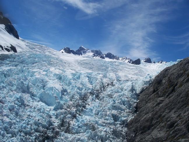 Gletsjer in beweging