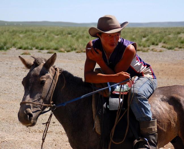 """Mongoolse """"Cowboy"""""""