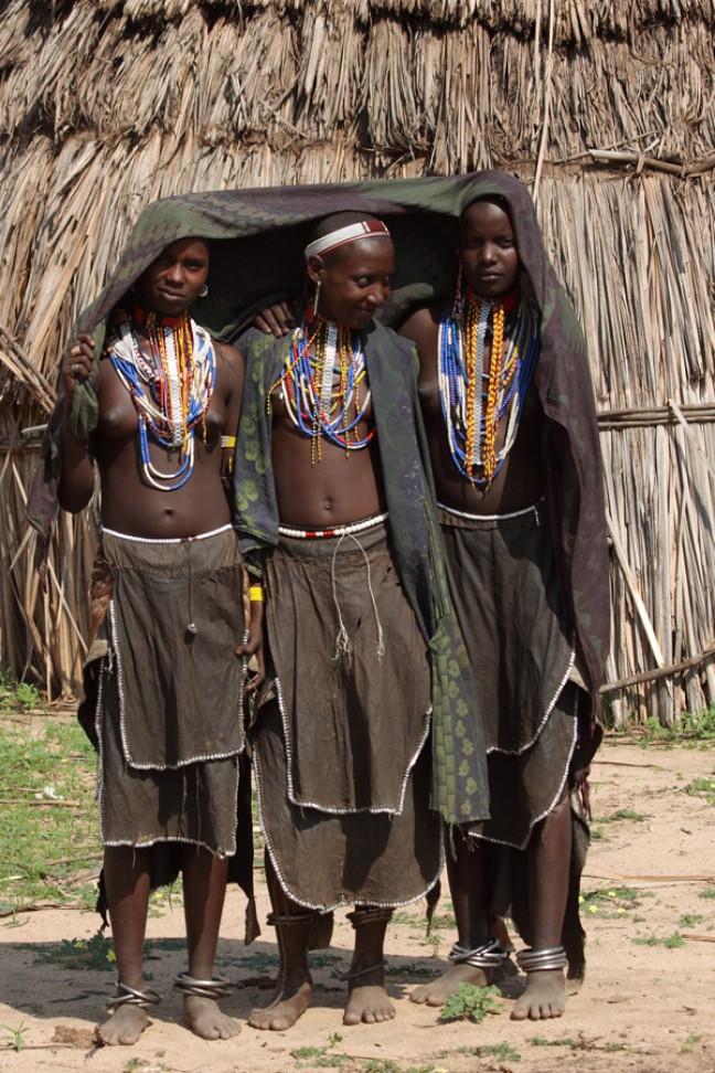 Stammen in Omo-vallei (6)