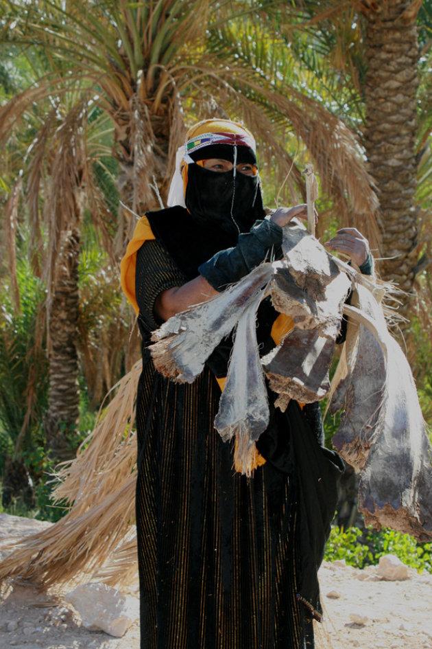 Woestijnbewoonster