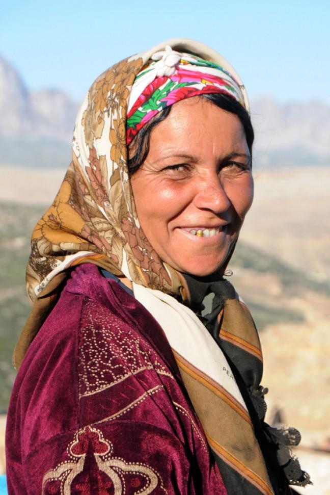 Tunesische berbervrouw
