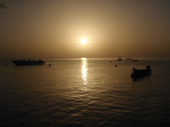 Saint-Pierre's Sunset