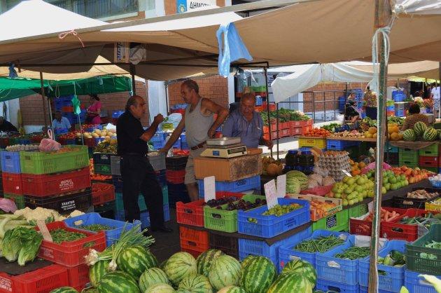 Markt in Nicosia.