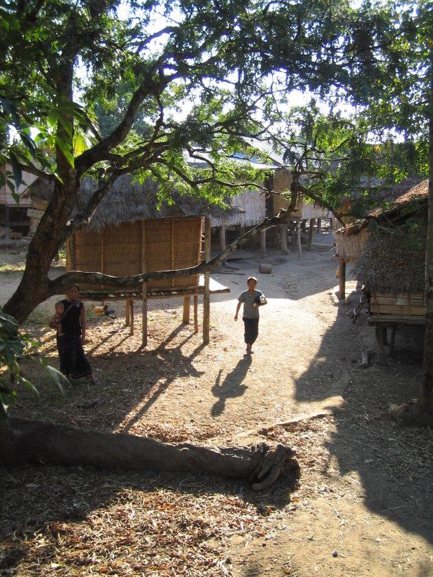 Alak dorp Bolaven Plateau