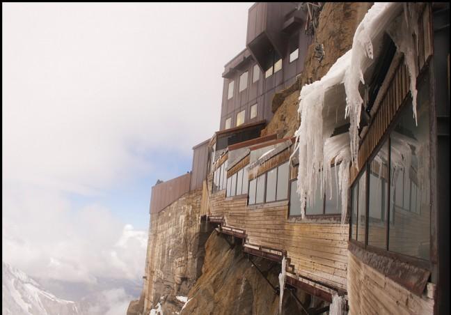 Bij de Mont Blanc