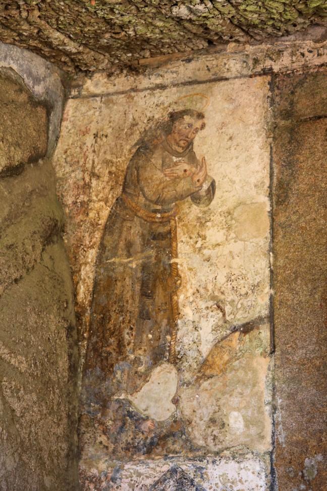 De wasruimte in het Capuchos klooster