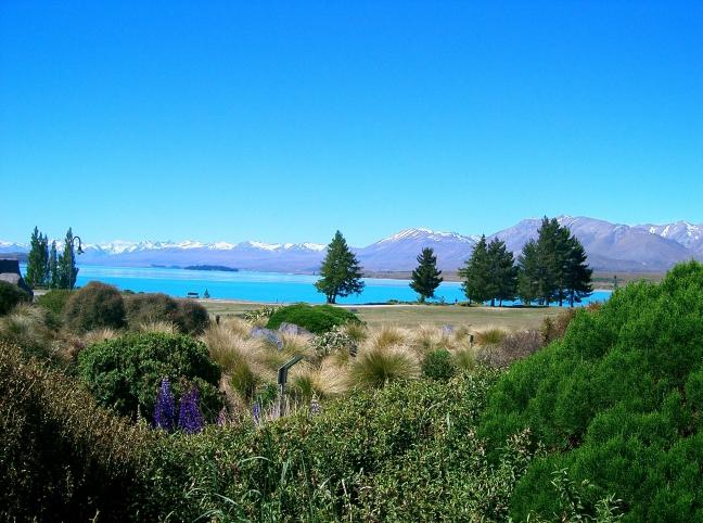 Lake Tekapo Nieuw Zeeland