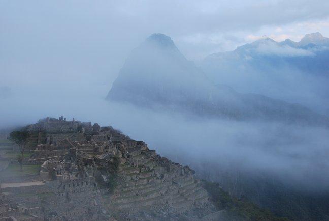 Machu Picchu ontwaakt...
