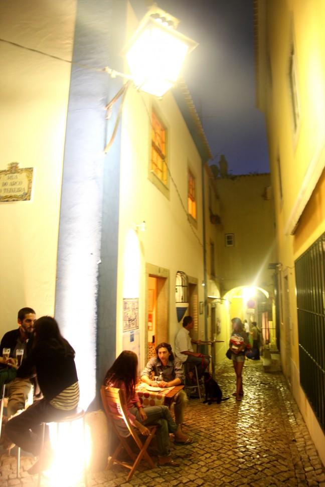Nachtleven in Sintra
