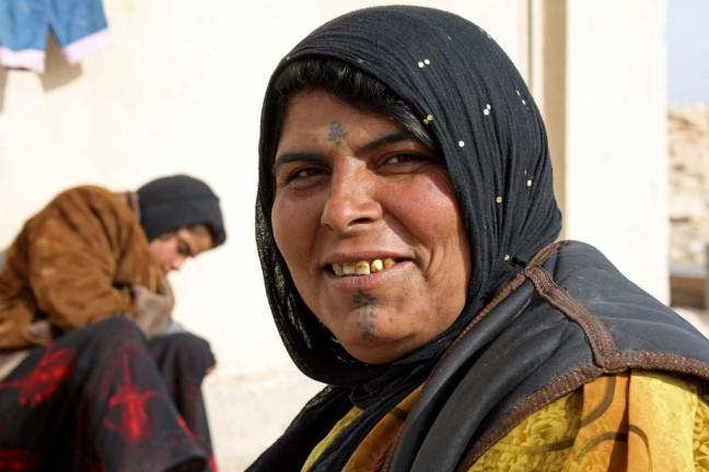 bedouine vrouw