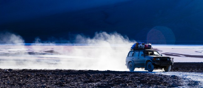 Jeepsafari Laguna Colorada, Bolivia