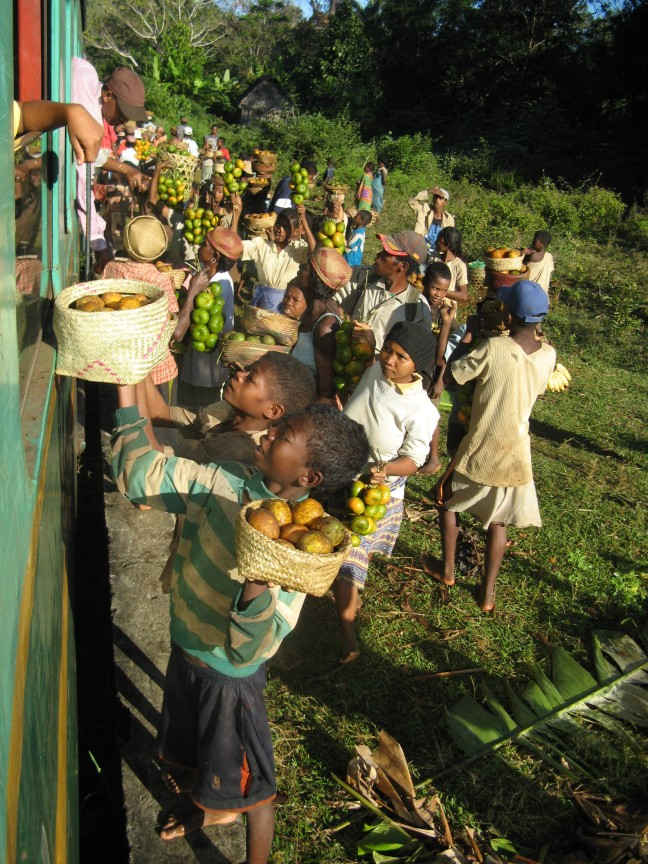 Treinreis Madagascar