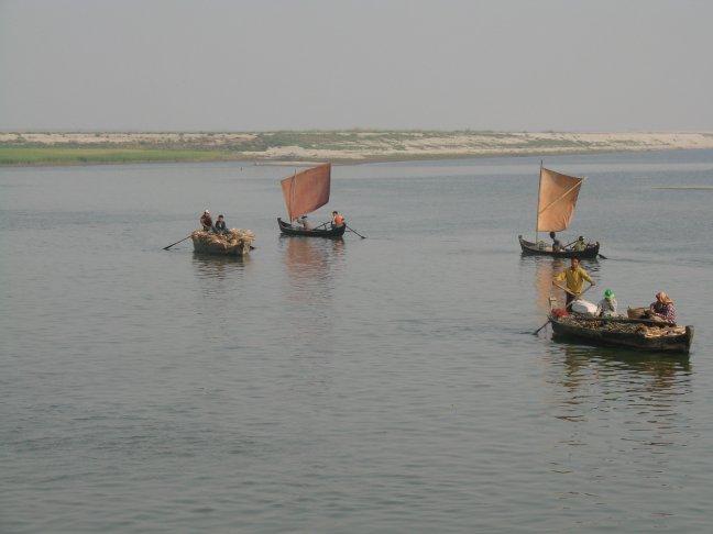 vrachtbootjes