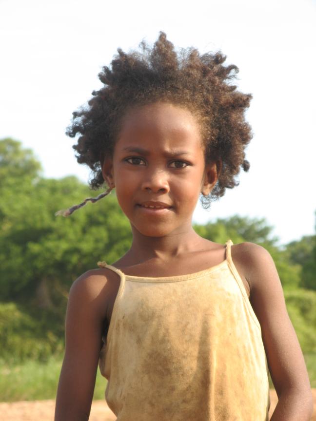 Meisje Madagascar