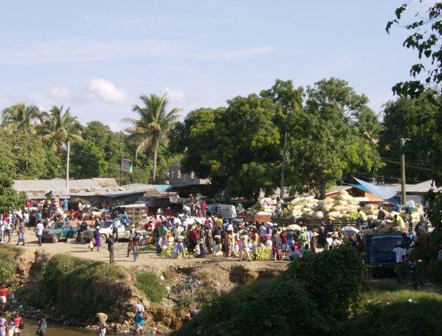 Markt in Haiti