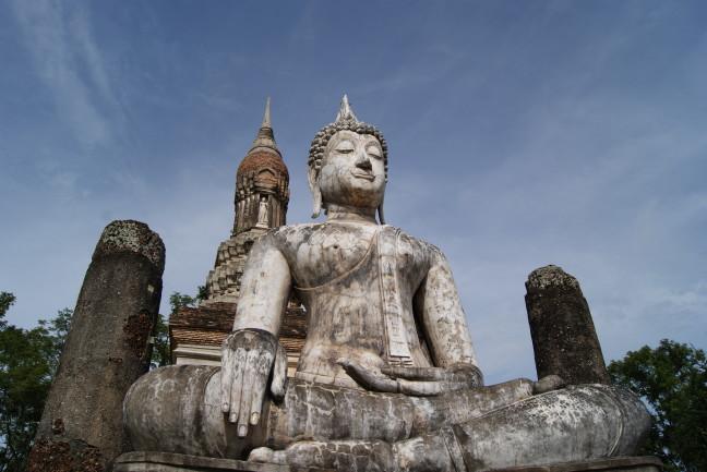 Zittende buddha