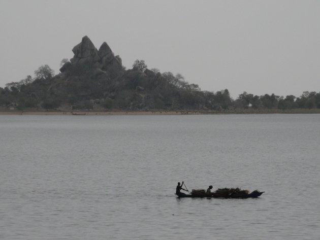 Lagdo Lake Kameroen