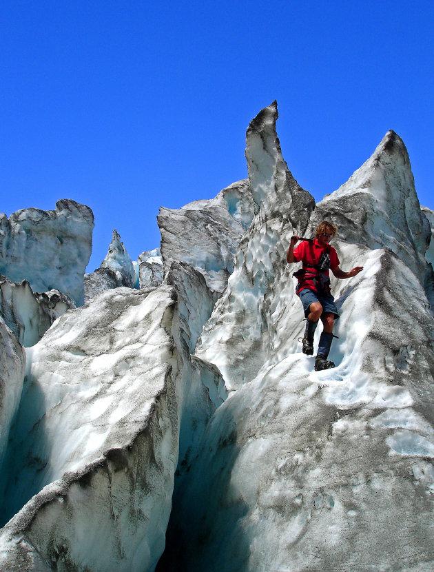 gletsjer tocht