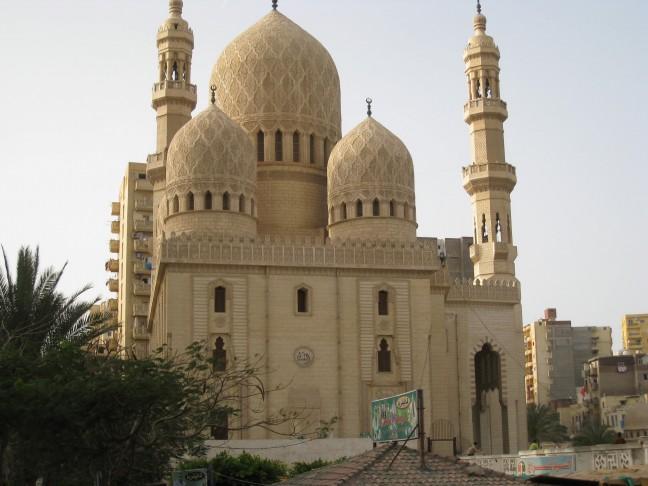 Moskee in het centrum van Alexandrië