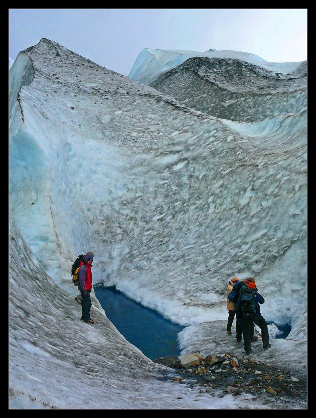 Gletsjer trekking