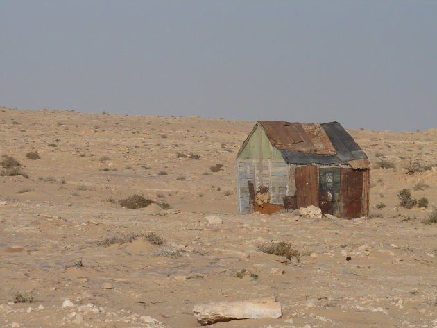 Grenspost Mauritanië
