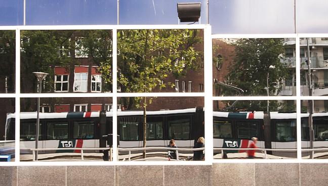 Rotterdam in spiegelbeeld