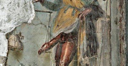 Fresco van Priapus