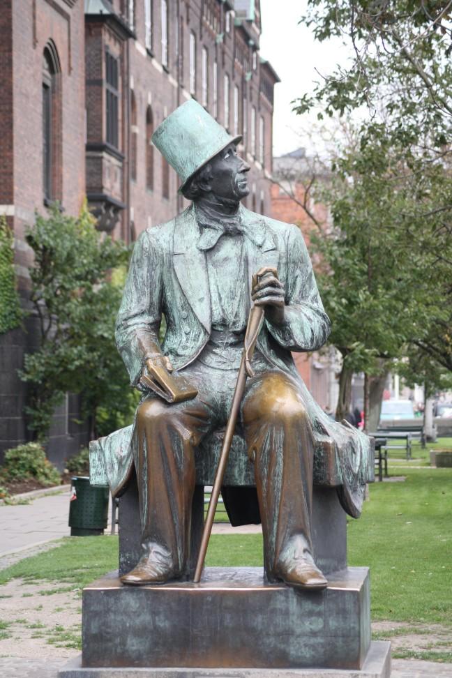 Standbeeld van Hans Christian Andersen