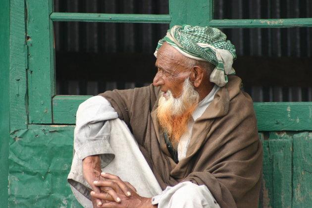 Man aan de grens Kashmir en Ladakh