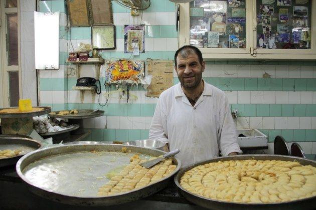 Baklava winkel, Deir es Zur