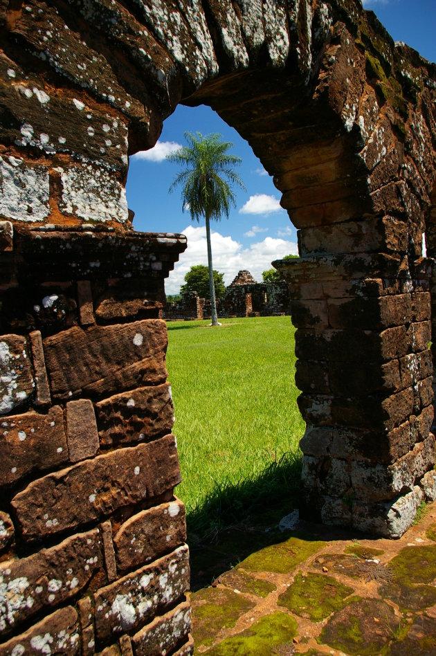 De ruines van Trinidad...