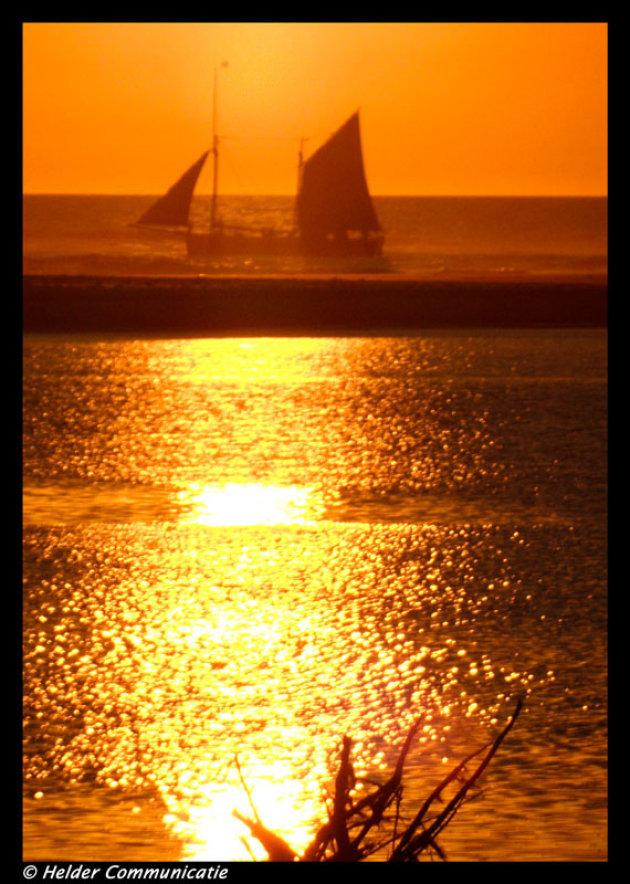 zon en boot