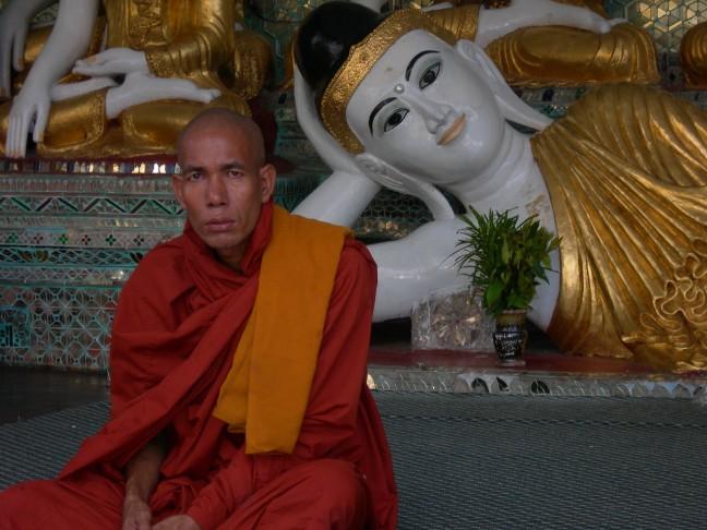 Monnik & Boeddha.