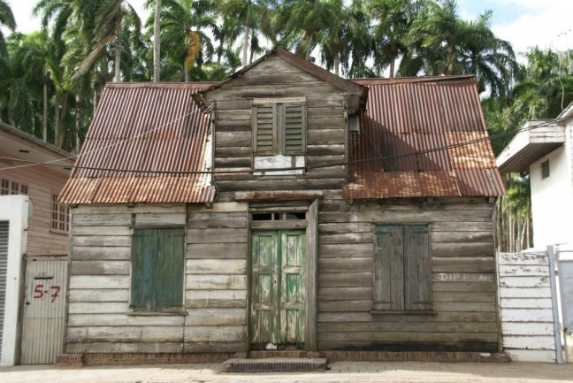 Huisje in Paramaribo
