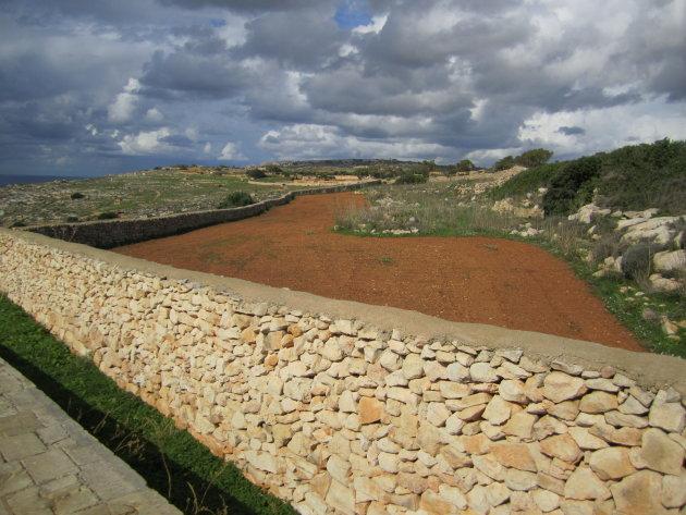 landschap van Malta