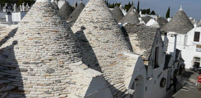 Trulli daken