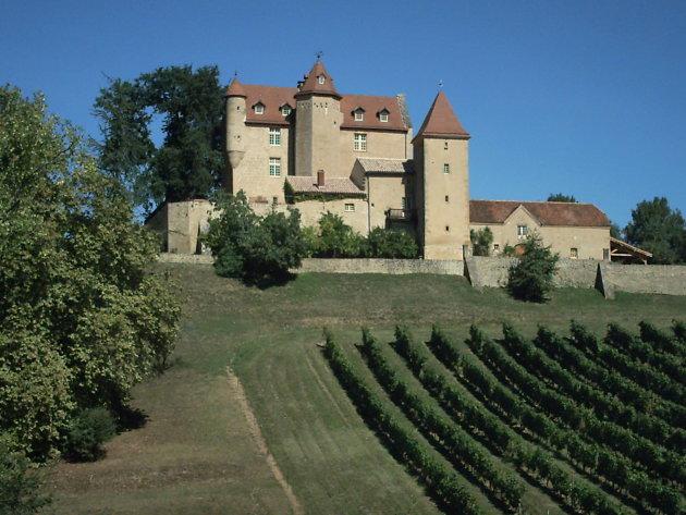 Wijn chateau in Madiran Z.W Frankijk