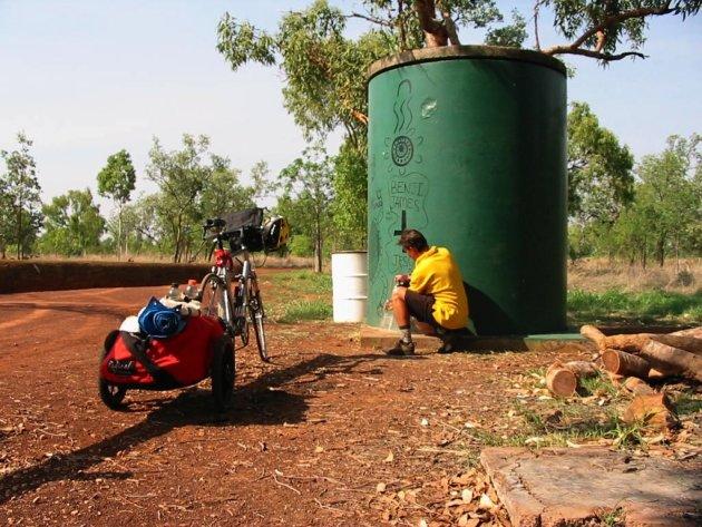 Watertanken.