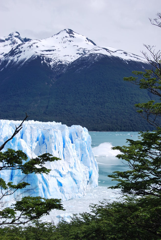 Avalanche, Perito Moreno