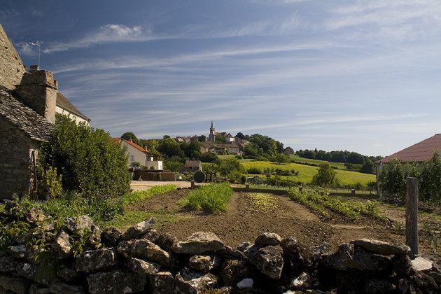 Azule, aan de Bourgondische route de Vin
