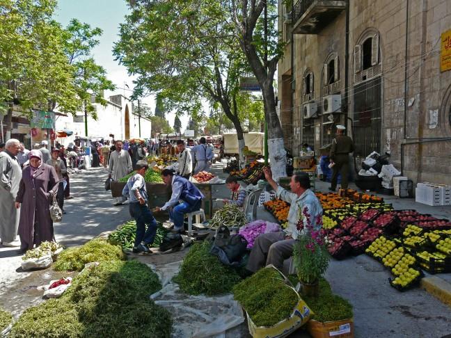 Markt in Maraat al-Numan