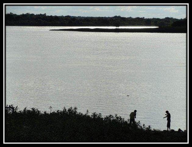 Namiddag aan de rio Paraguay