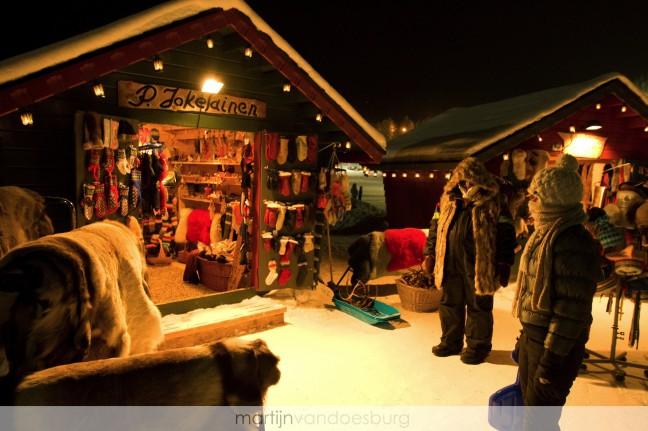 Kerstmarkt Levi Lapland