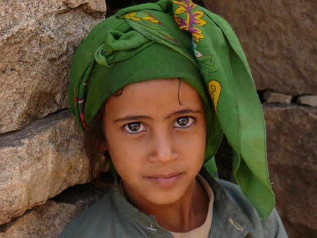 Kind in Djebel Burra