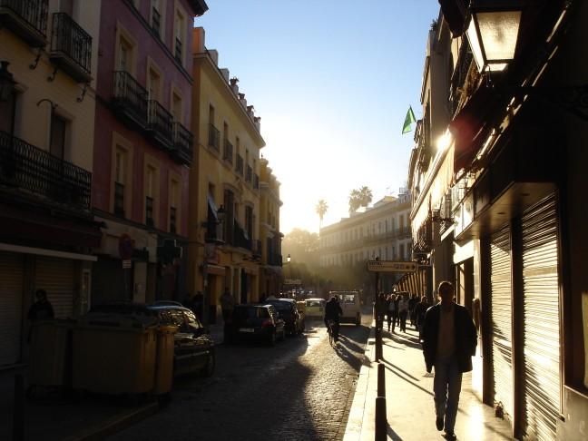 Najaar in Sevilla