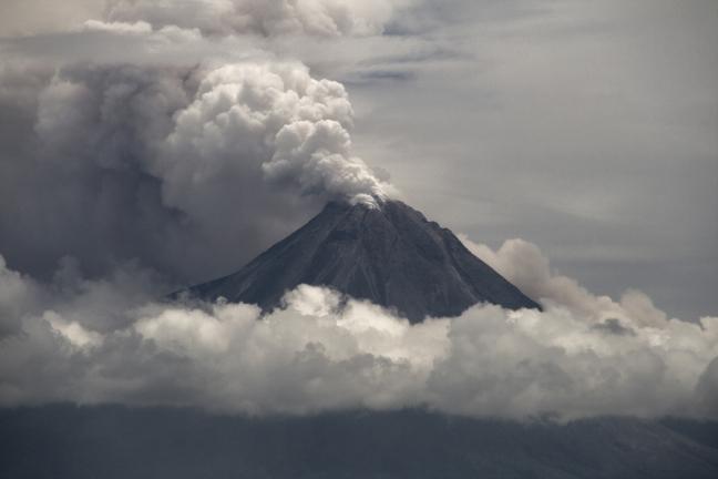 Uitbarsting Merapi  31 oktober 2010