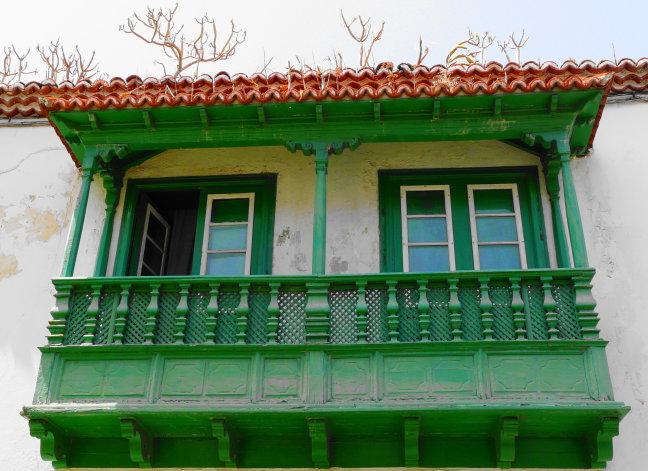 gifgroen balkon