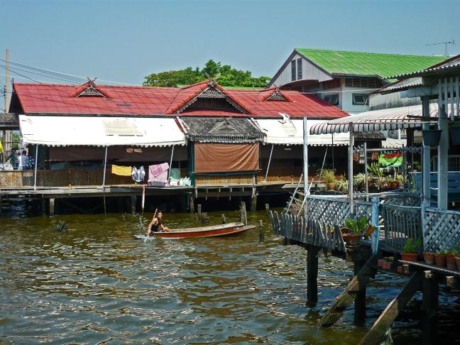 Klongs van Bangkok
